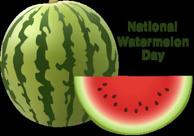 Watermelon clipart watermelon day. National pseudo holidays