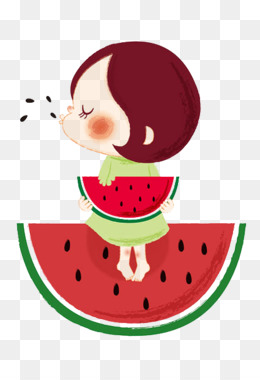 Watermelon clipart watermelon eating contest. Png