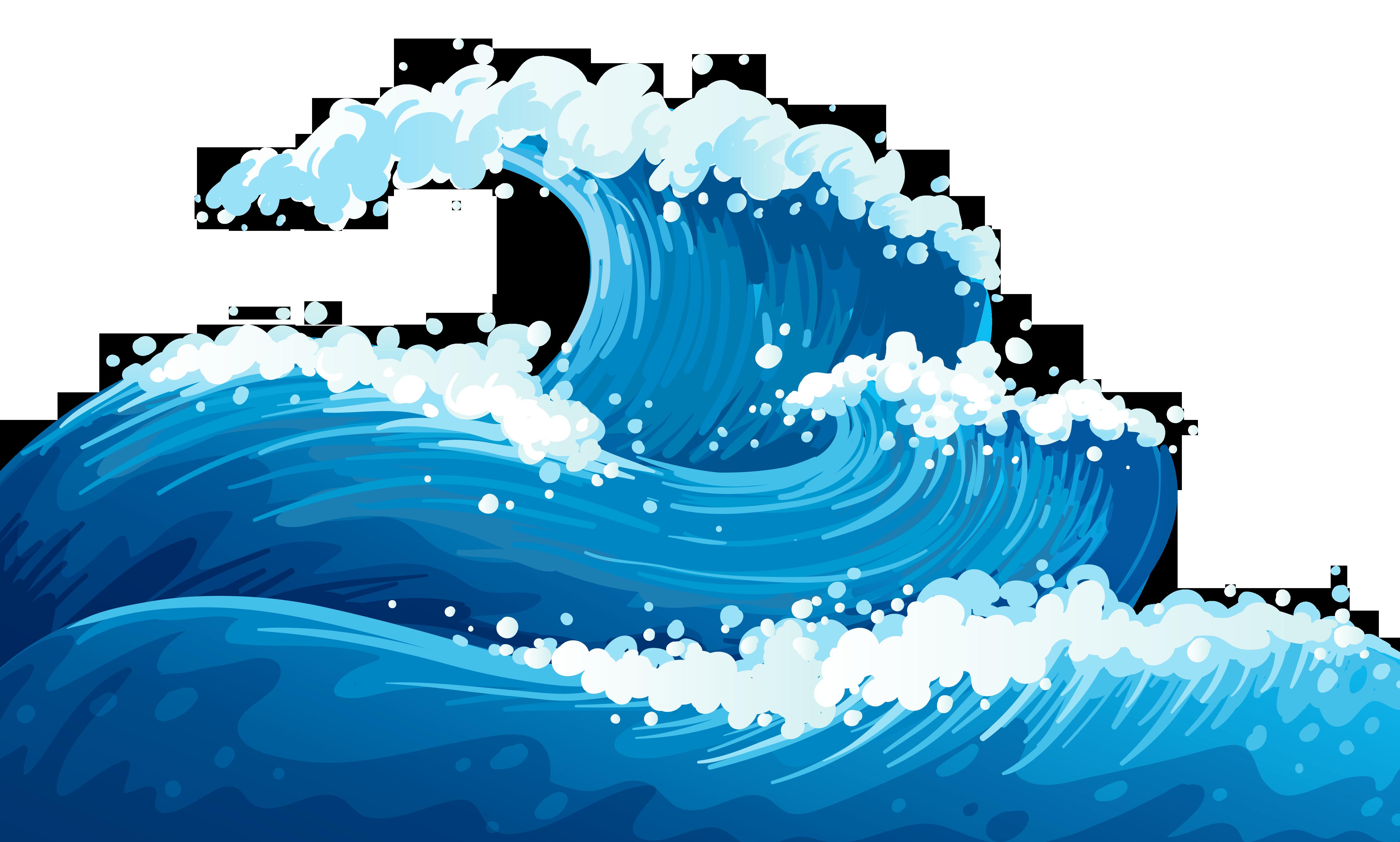 Wave clipart. Waves clip art incep