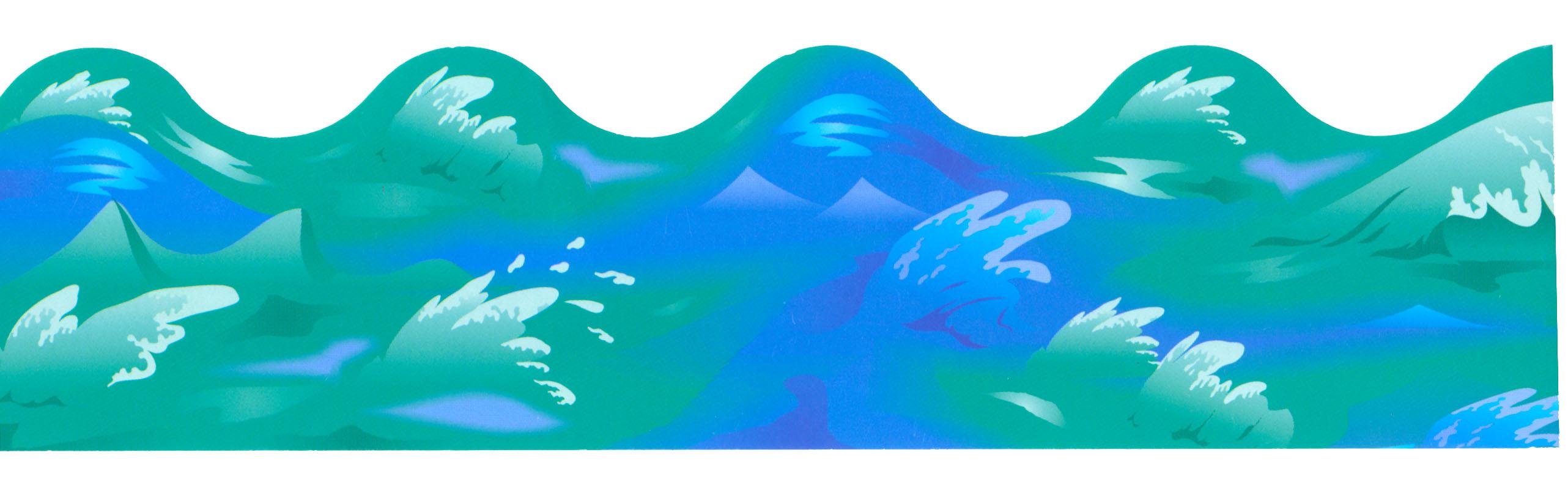 . Clipart waves wave hawaiian