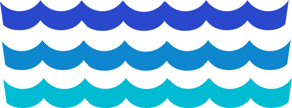 Clipart waves easy. Simple