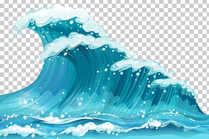Waves clipart aqua. Wind wave png blue