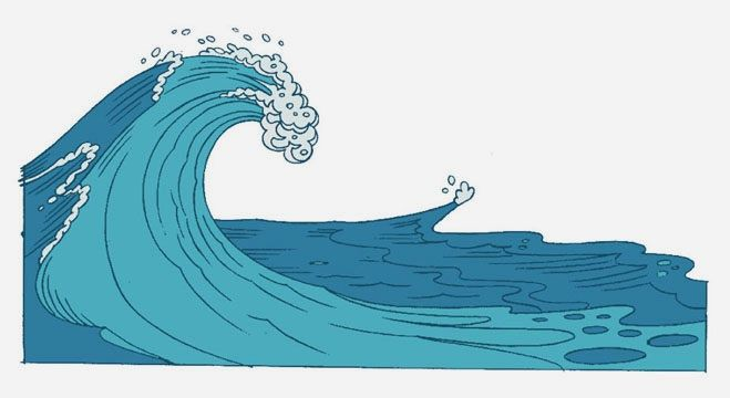 Waves clipart cartoon. Free wave download clip