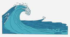 best images ocean. Waves clipart giant wave