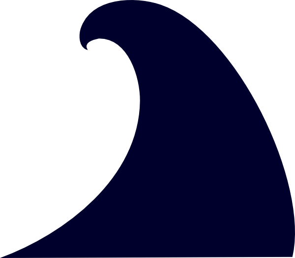 Waves clipart huge wave.  freebie download for
