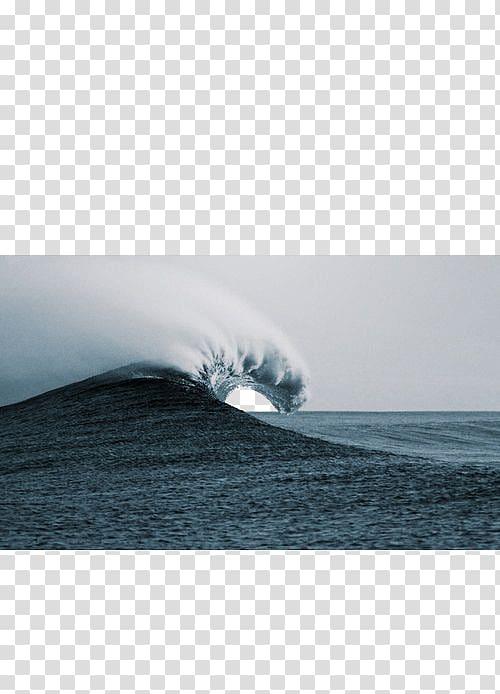 Wind sea transparent background. Waves clipart large wave