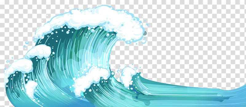 Waves clipart ocean current. Sea illustration wind wave