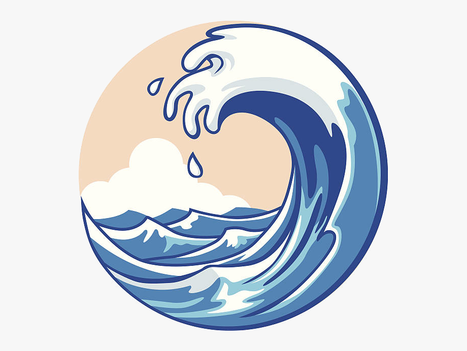 Waves clipart ocean wave. Cartoon free cliparts on