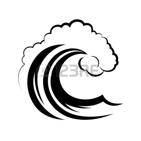 Wave line cliparts download. Waves clipart royalty free