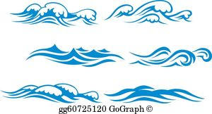 Waves clipart small wave. Clip art royalty free