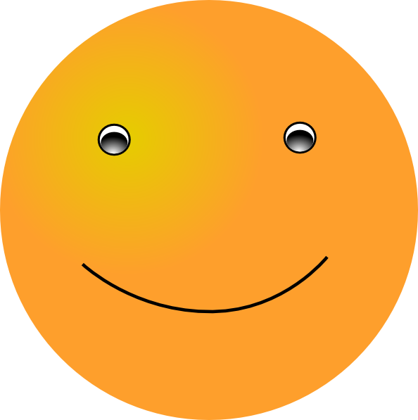 Waves clipart smile. Smiling face clip art