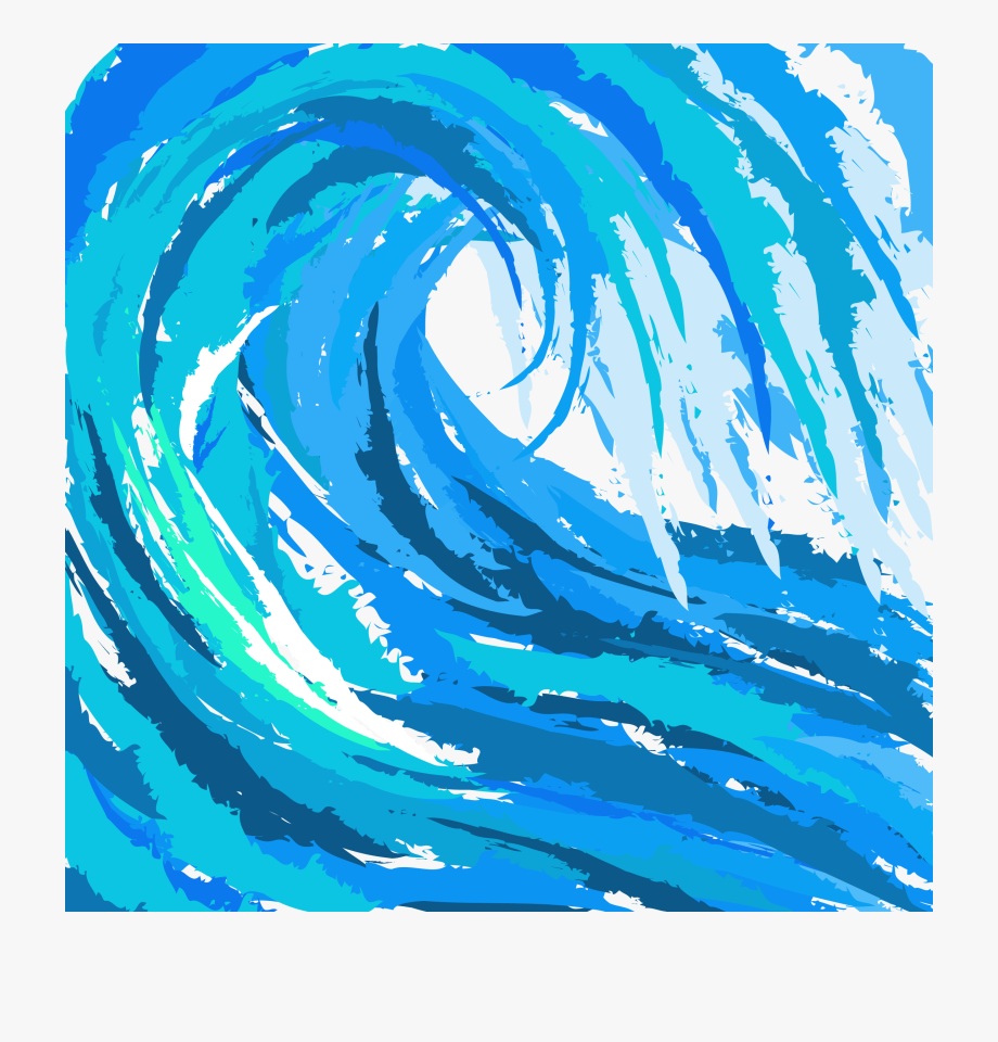 Practicing ocean surfing png. Waves clipart surf wave