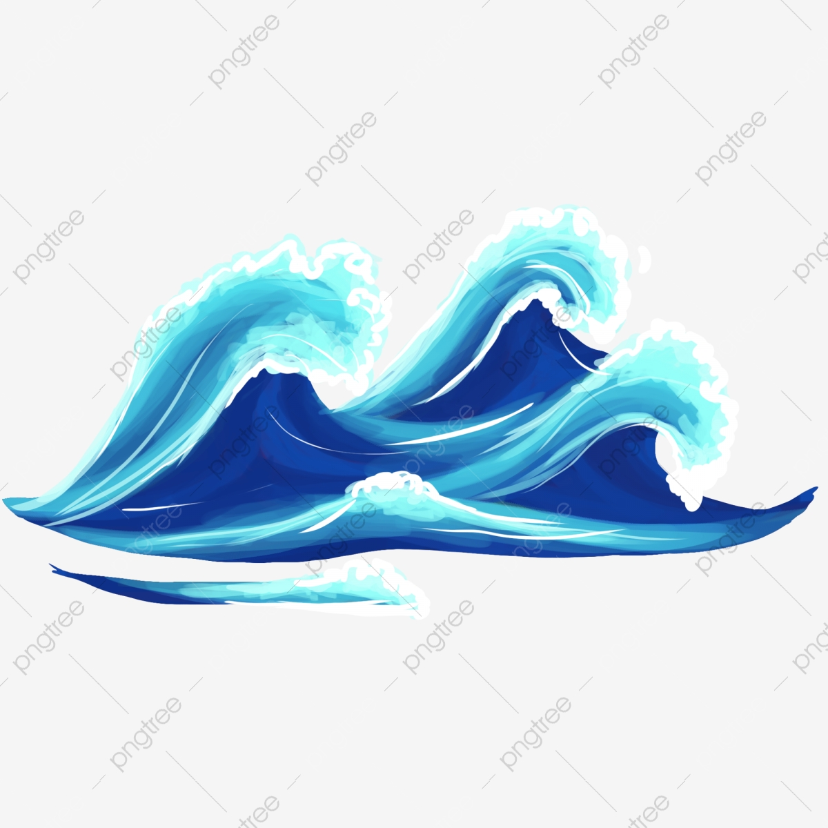 Cartoon decoration spray png. Waves clipart surf wave
