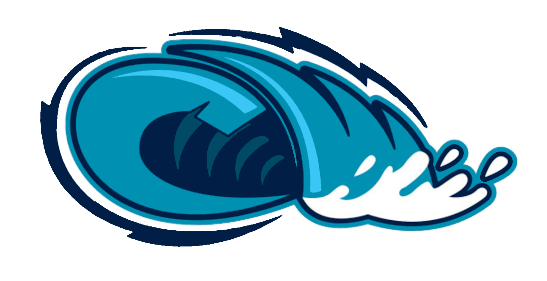 Wave border free download. Waves clipart tide