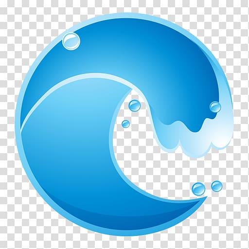 Wind wave transparent background. Waves clipart tide