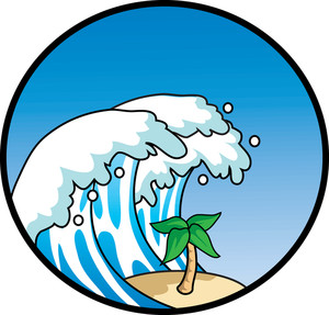 Waves clipart tsunami. Wave free clip panda
