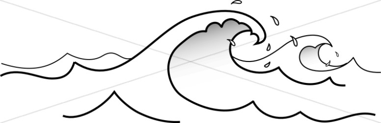 Line cliparts free download. Waves clipart wave outline