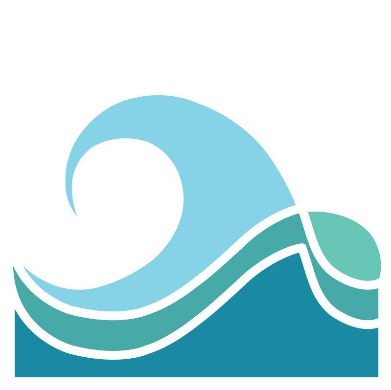 Waves clipart wave shape wave. I like the bottom