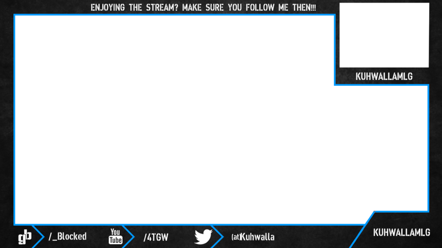 Overlay twitch gaming pinterest. Webcam border png