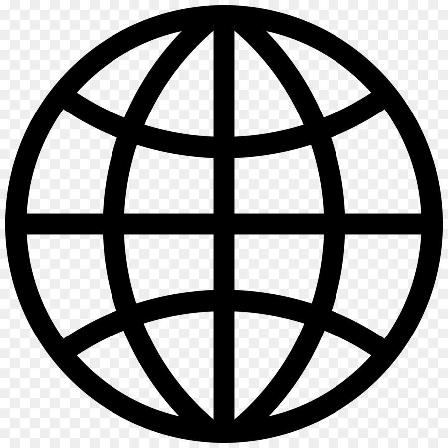 Website clipart. Web development logo world