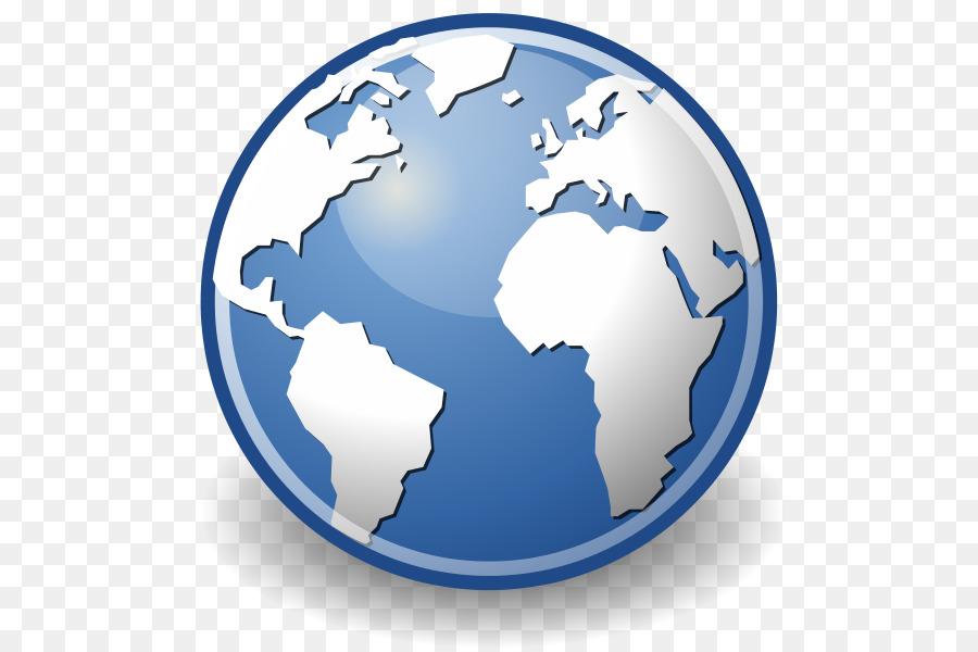 Earth cartoon internet globe. Website clipart browser