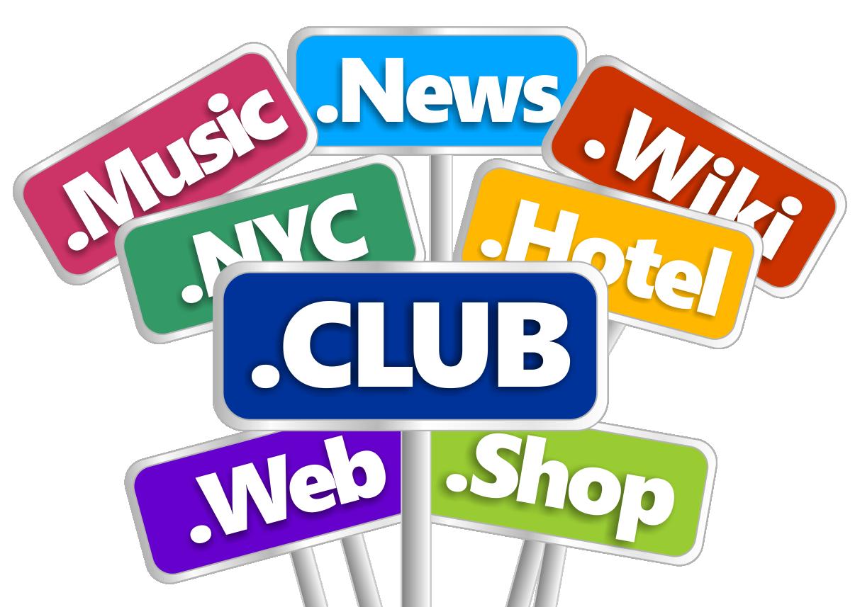 Domain register a name. Website clipart computer club
