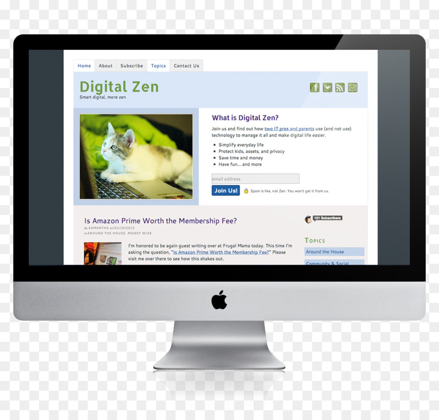 Cartoon product media . Website clipart computer time