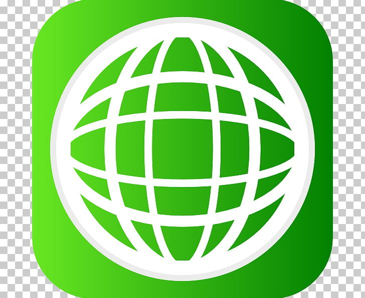 Globe icons world wide. Website clipart green computer