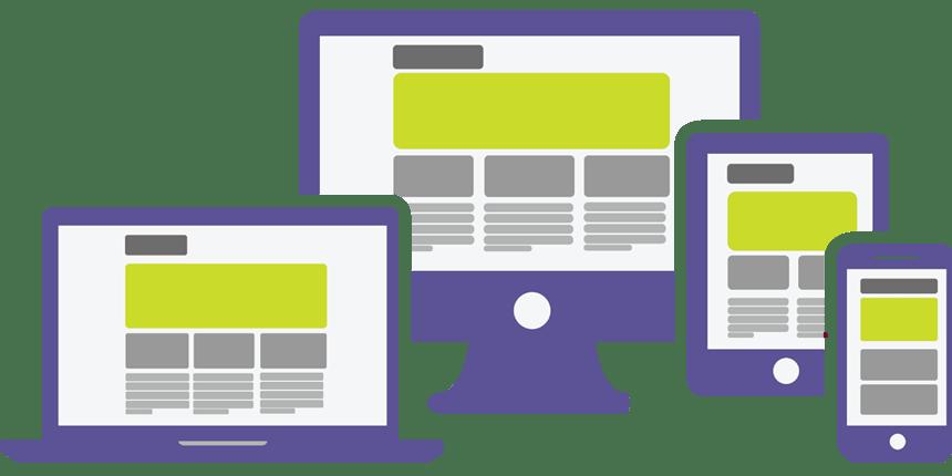 Website clipart mobile friendly. Web design services gener