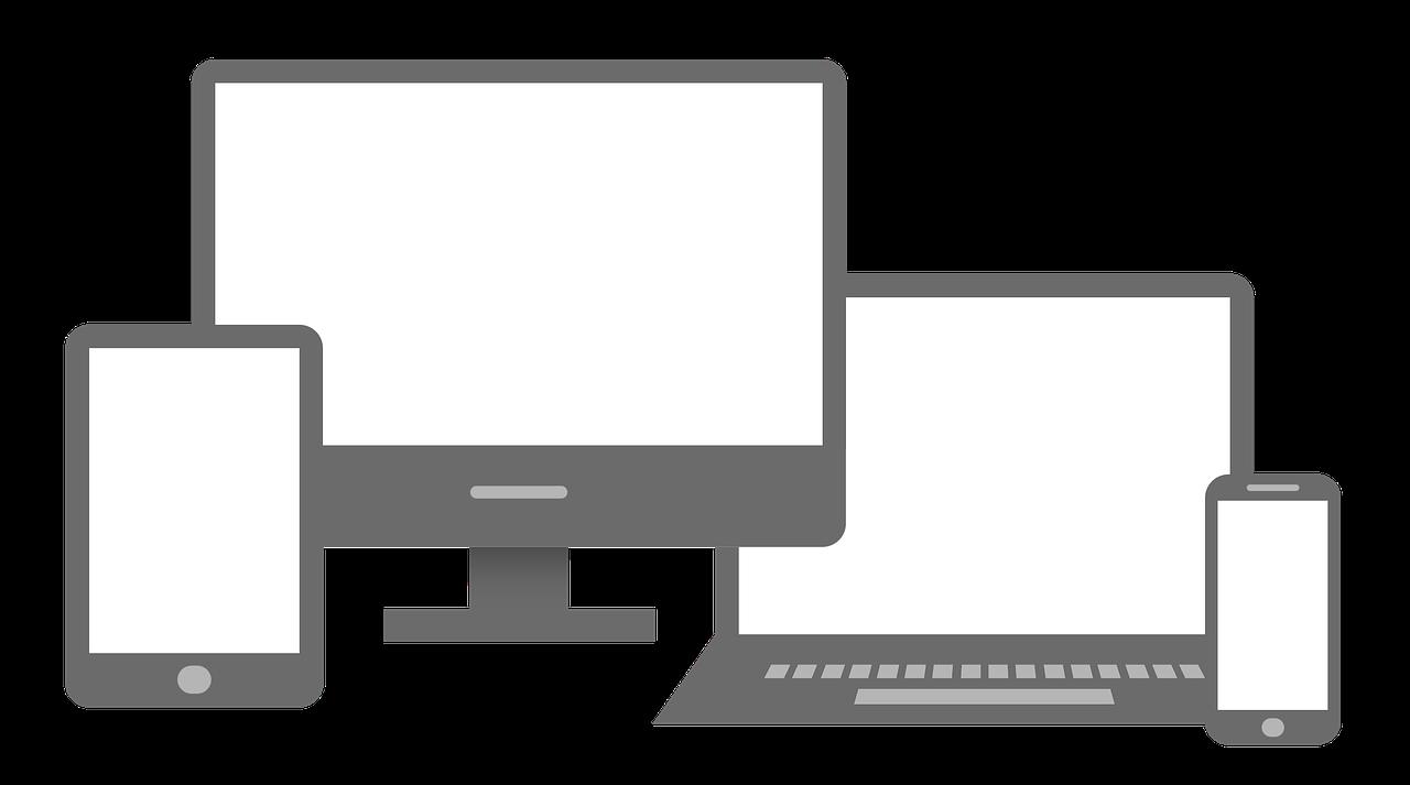 Web development design services. Website clipart mobile friendly