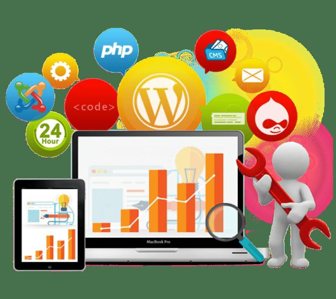 Website clipart technology subject. Web solutions dubai designing