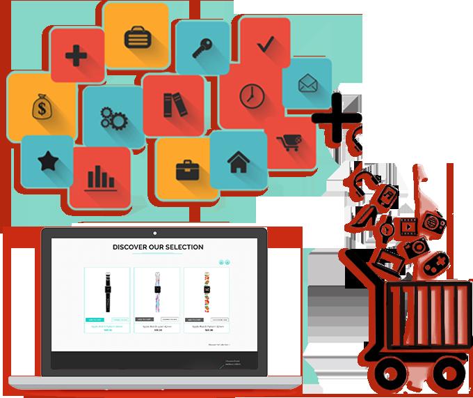 Website clipart technology subject. Ecommerce development jaipur rajasthan