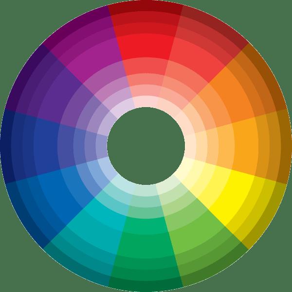 Basic colors for websites. Website clipart web address