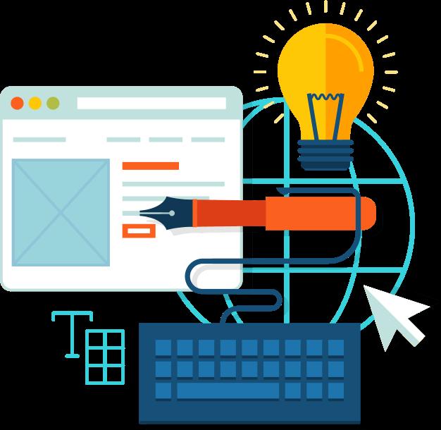Website clipart web development. Custom company uk service