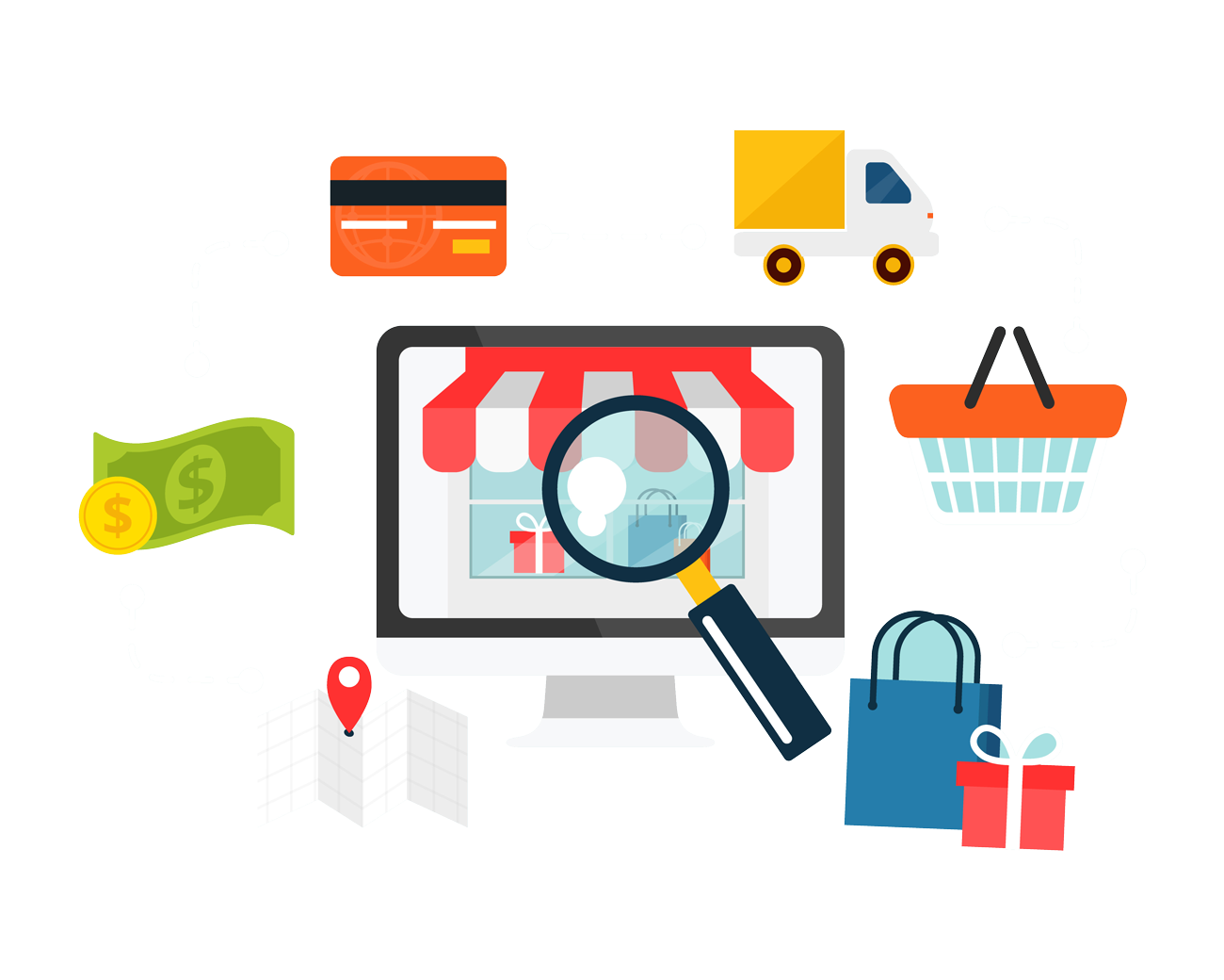 Website clipart web development. Ecommerce in los angles