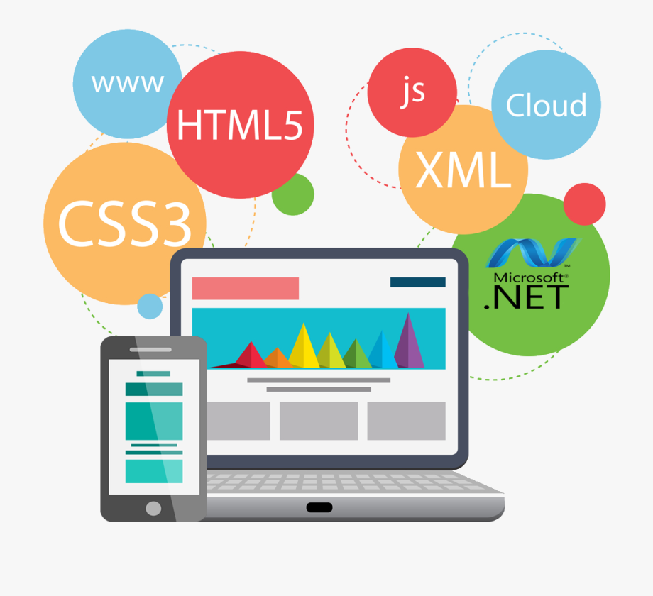 And app . Website clipart web development