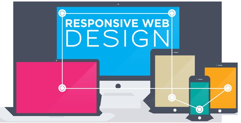 Mobile responsive web designing. Website clipart website designer