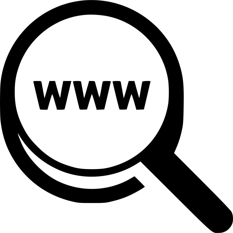 Website clipart world wide web. Www research analysis search