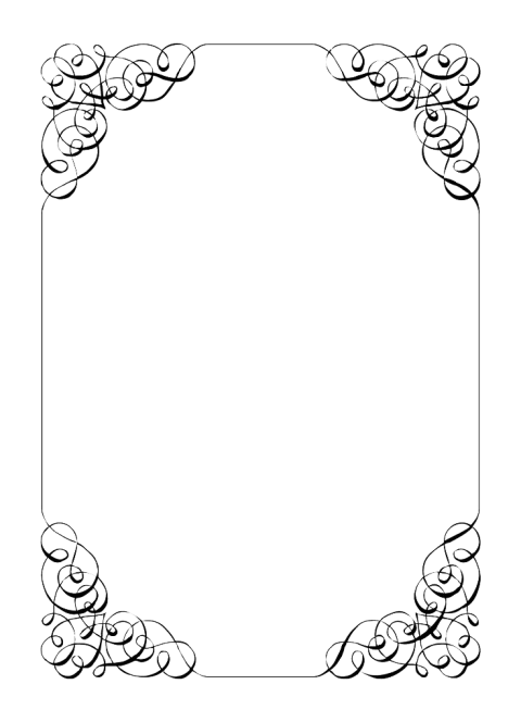 Invitation free images toppng. Wedding border png