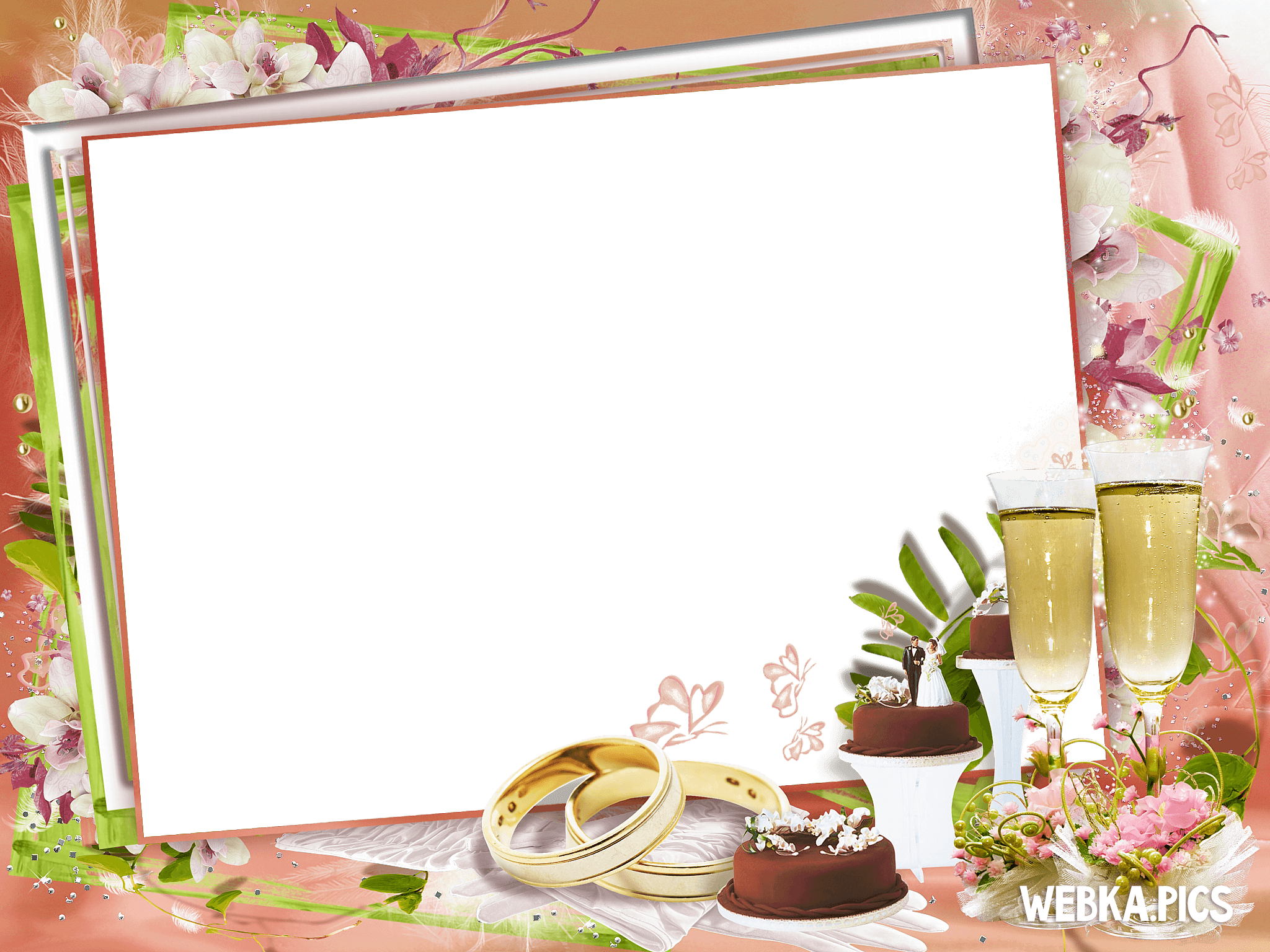 Transparent pictures free icons. Wedding frame png