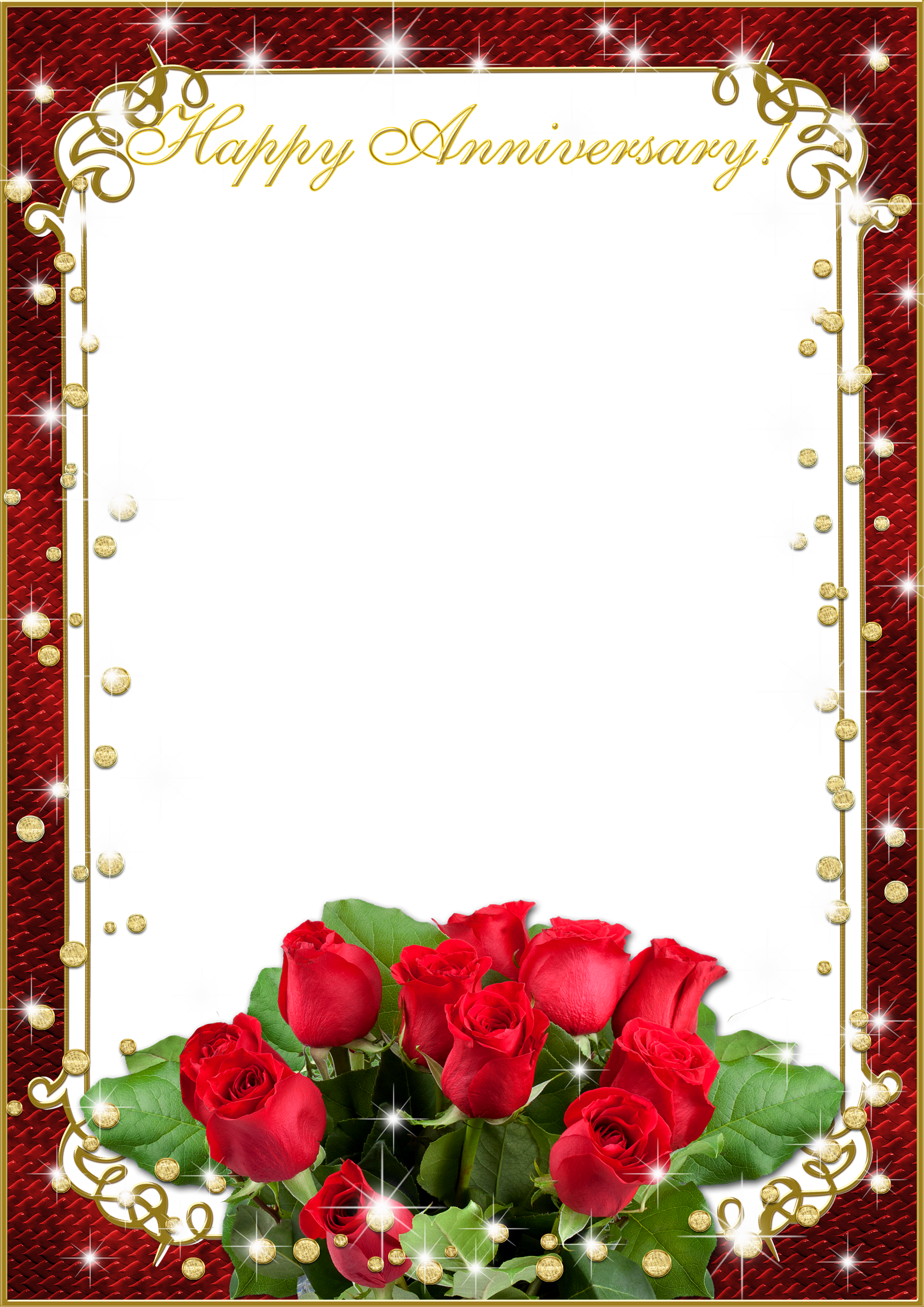 With flower love . Wedding frame png