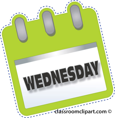 Free . Wednesday clipart