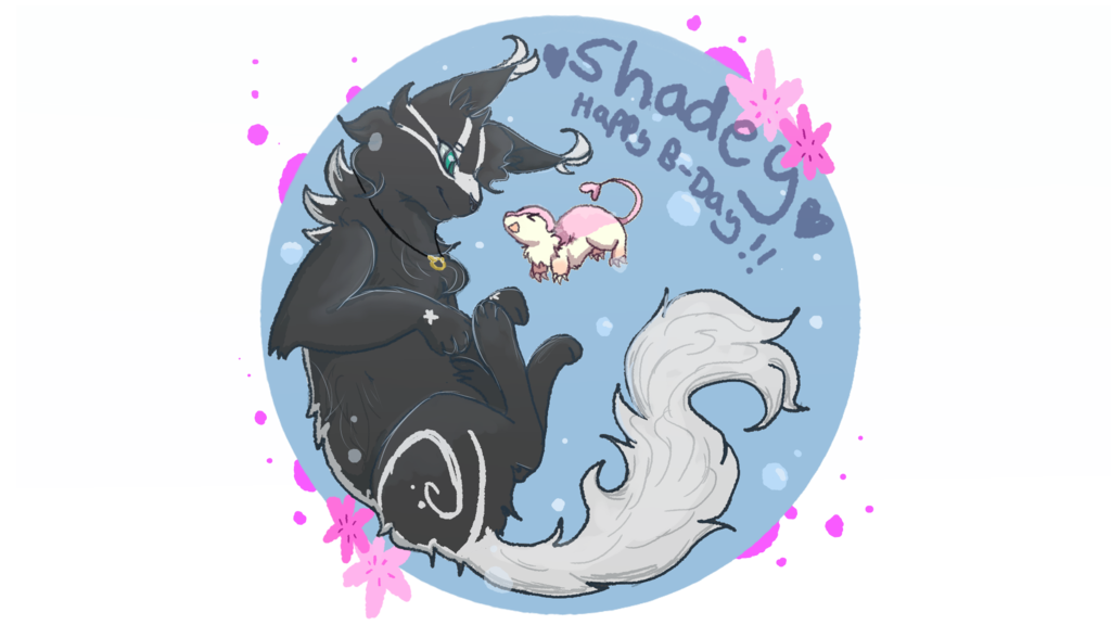 B day shadey by. Wednesday clipart happ