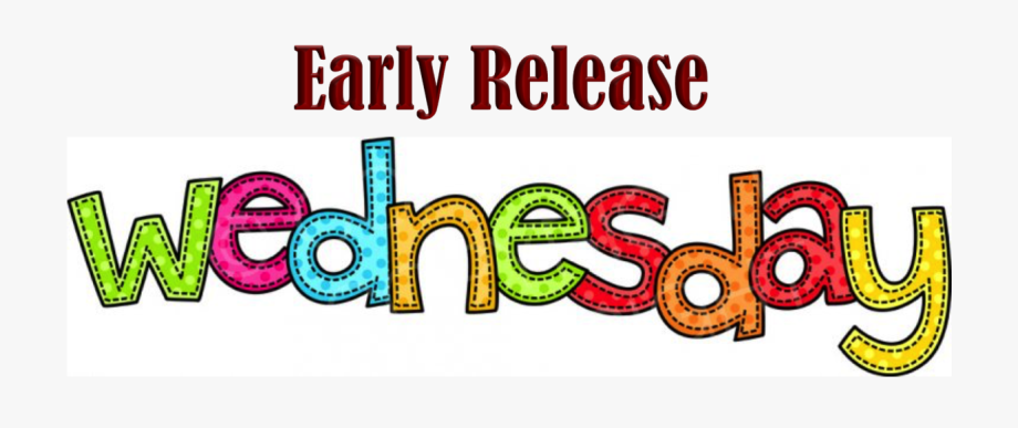 Early release graphic design. Wednesday clipart s wednesday