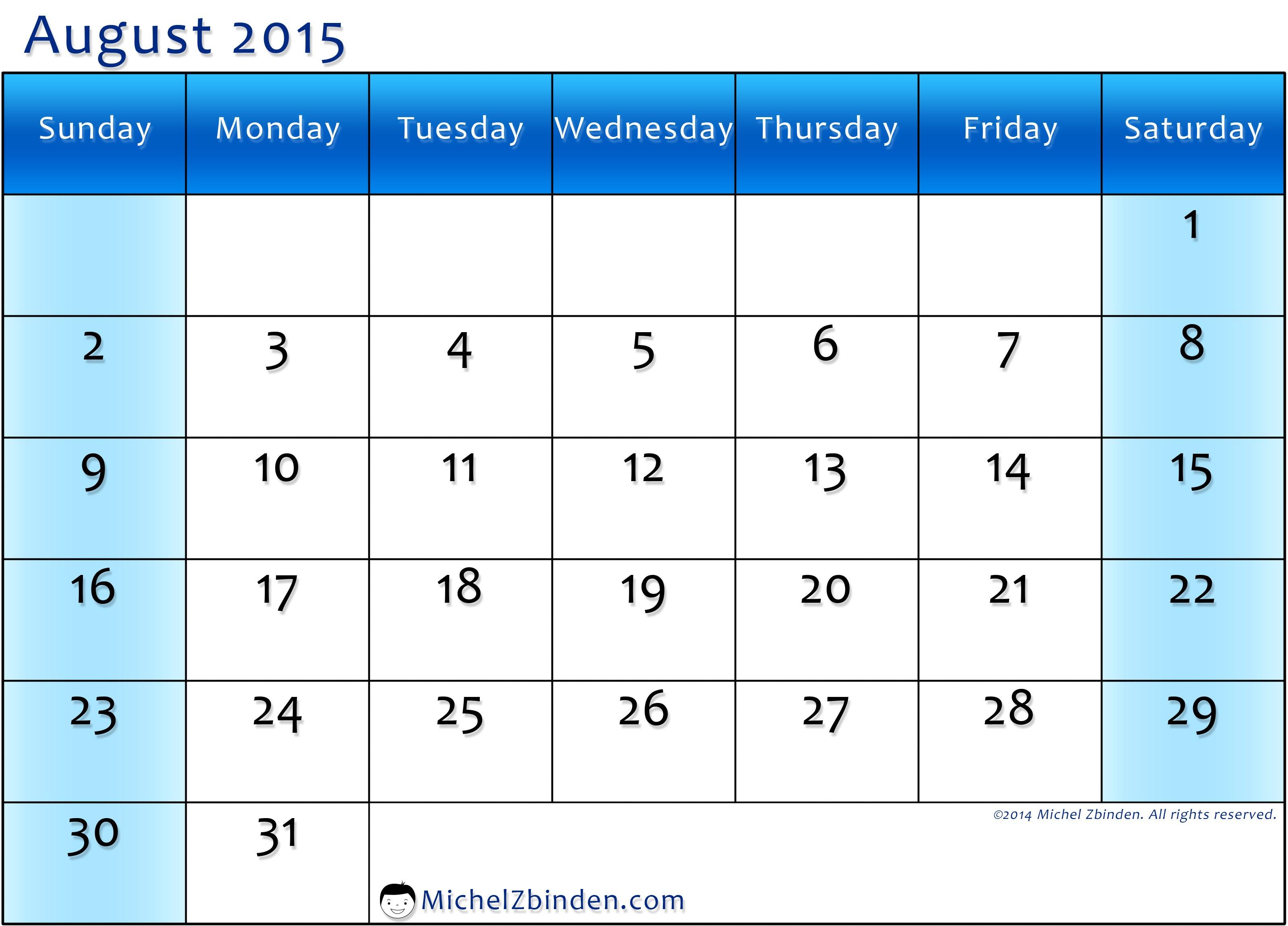 Wednesday clipart sunday calendar. August wallpapers clipartix
