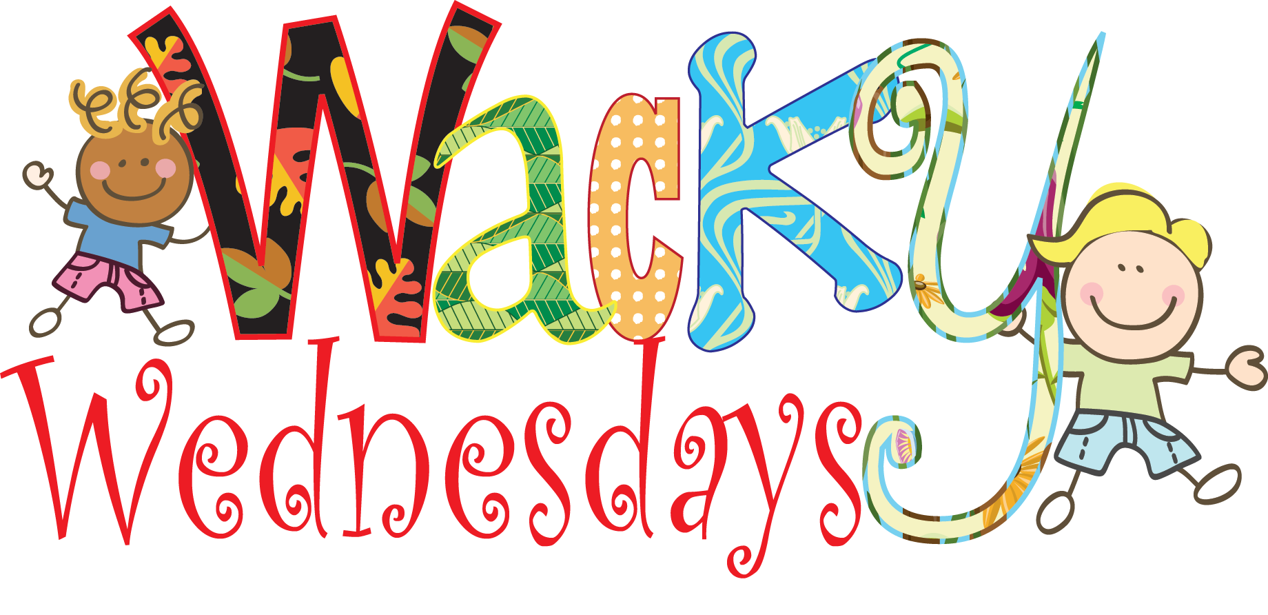 Special events. Wednesday clipart wacky outfit