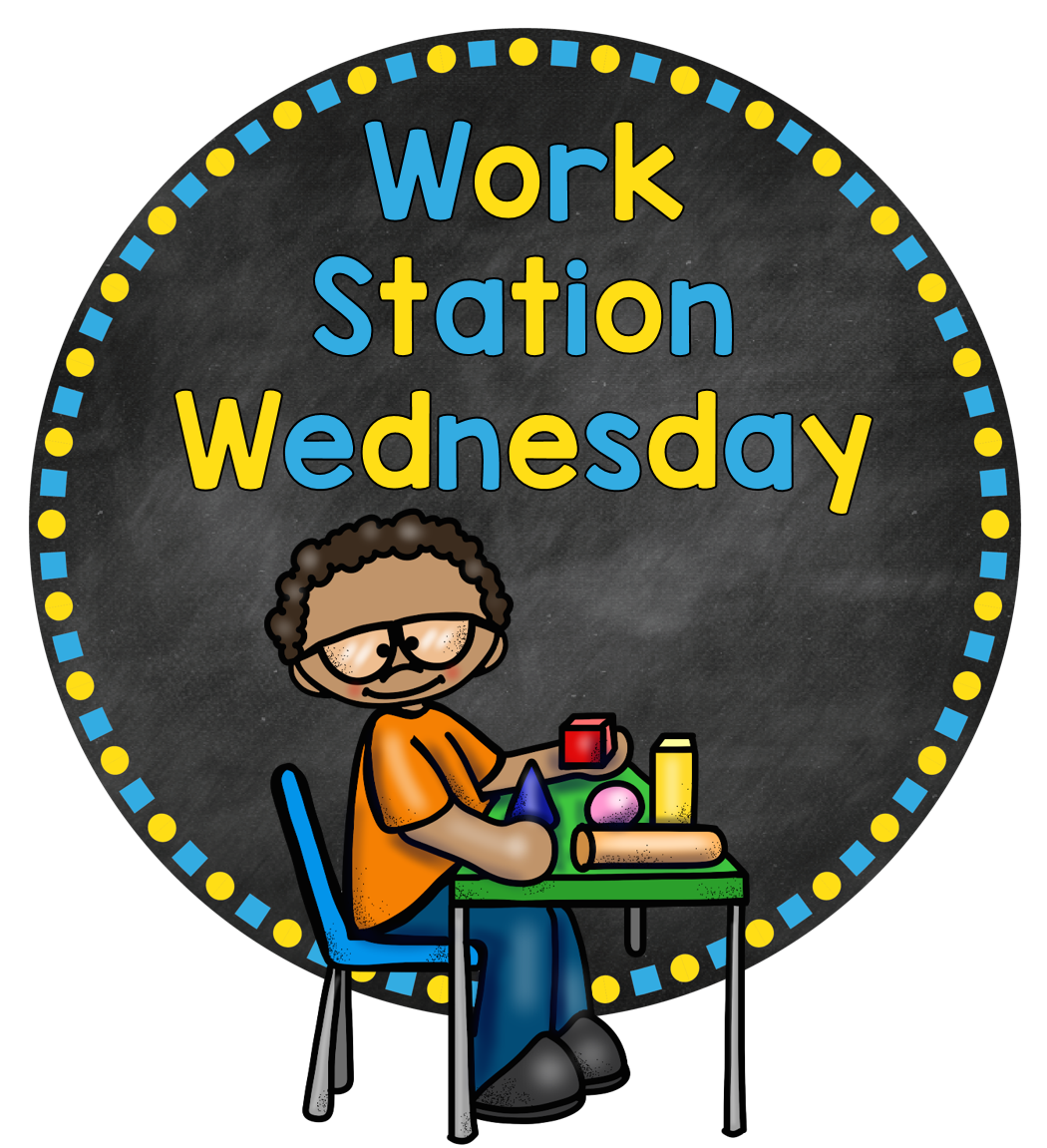 A special kind of. Words clipart work station