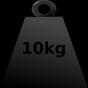Weight clipart.  kg clip art
