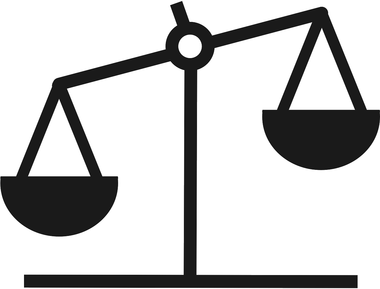 Weight clipart balance. Hd scale silhouette justice