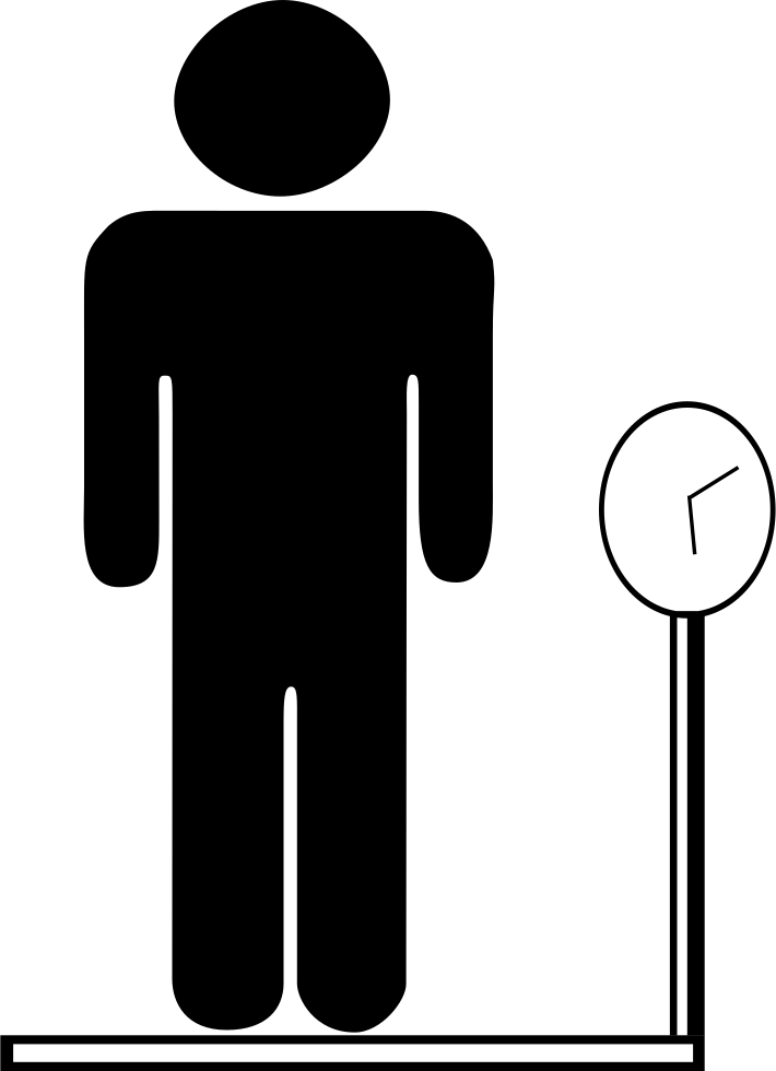 Male svg png icon. Weight clipart body weight